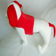 MiniDach Lady in Red Easy Walk Harness